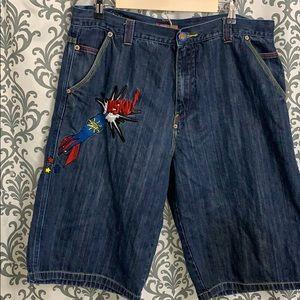 Vintage Muskegon shorts